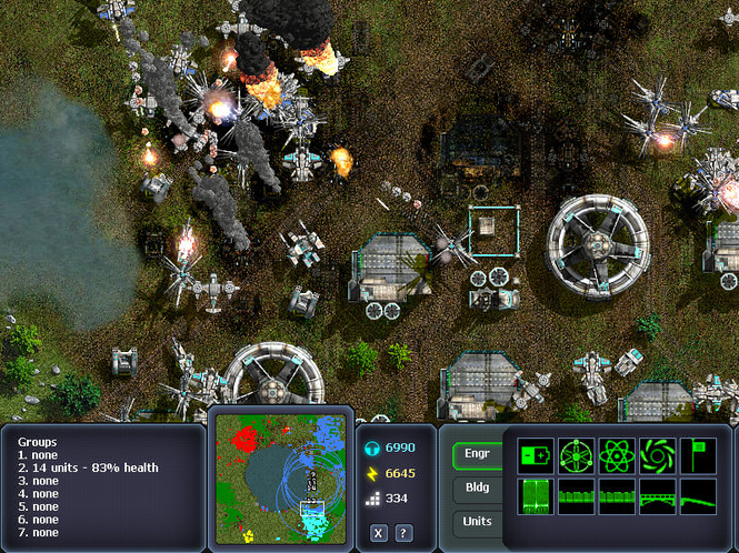 Machines at War Mac Screenshot