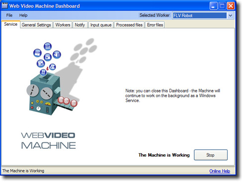 Web Video Machine Screenshot