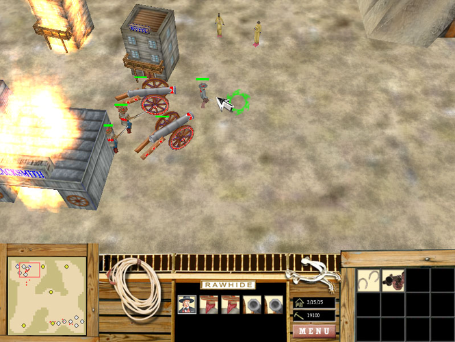 OSU Game - Rawhide Frontier Screenshot 1