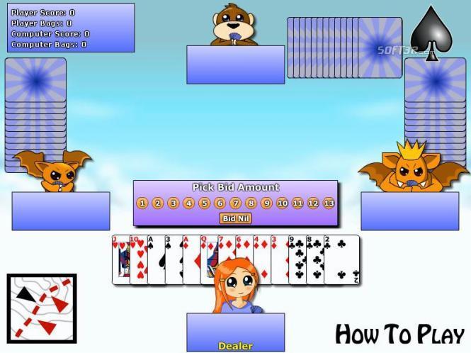 Spades Card Game Screenshot 2