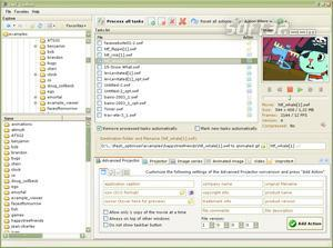 FLV to AVI Converter Screenshot 2
