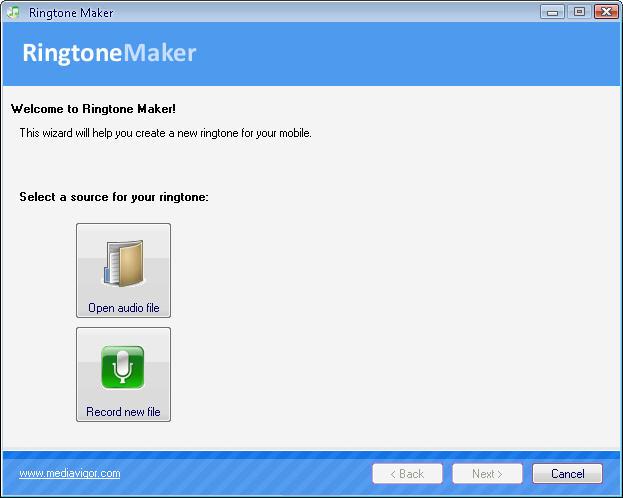 Ringtone Maker Screenshot