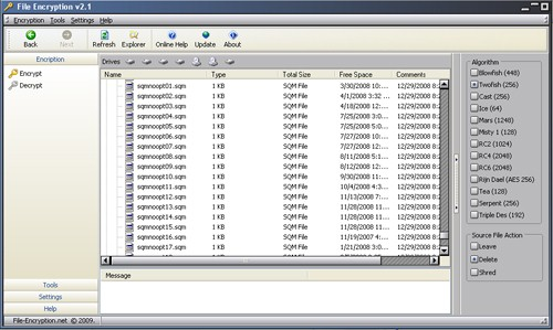 File Encryption Screenshot 1