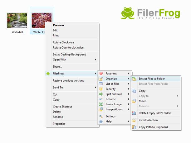 FilerFrog Screenshot 1