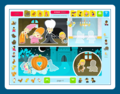 Sticker Activity Pages 4: Fairy Tales 1