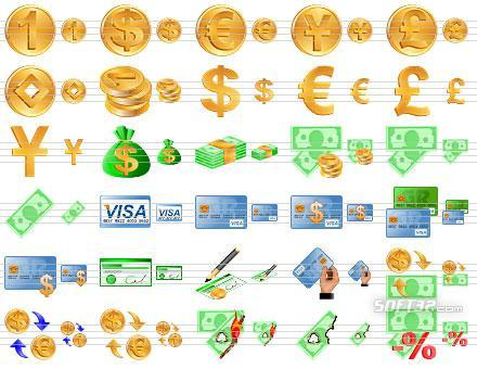 Money Toolbar Icons Screenshot 3