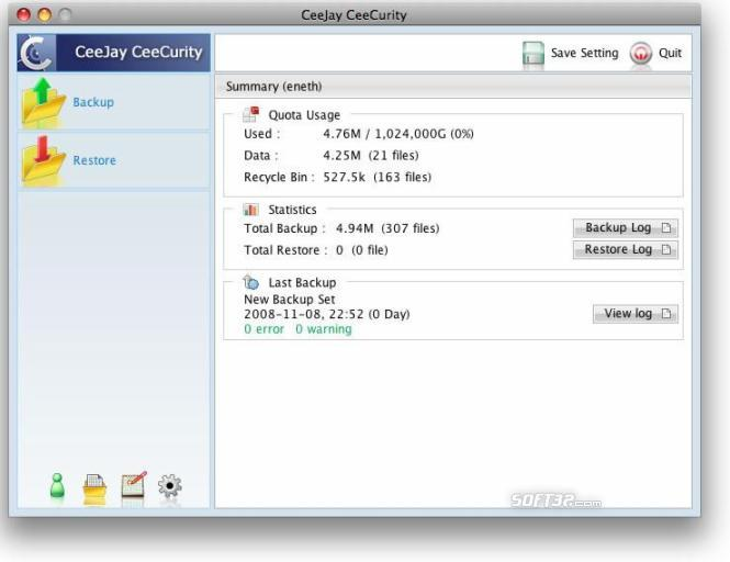 CeeJay CeeCurity for Mac Screenshot 1