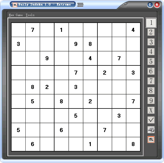 Daily Sudoku Screenshot