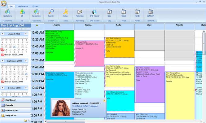 Appointment Book Pro Screenshot