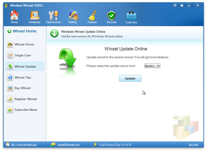Windows Winset Screenshot 2