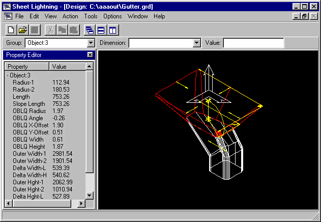 Sheet Lightning Demo Screenshot