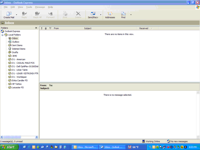 outlook express italiano per xp