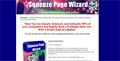 Squeeze Page Wizard Software 1