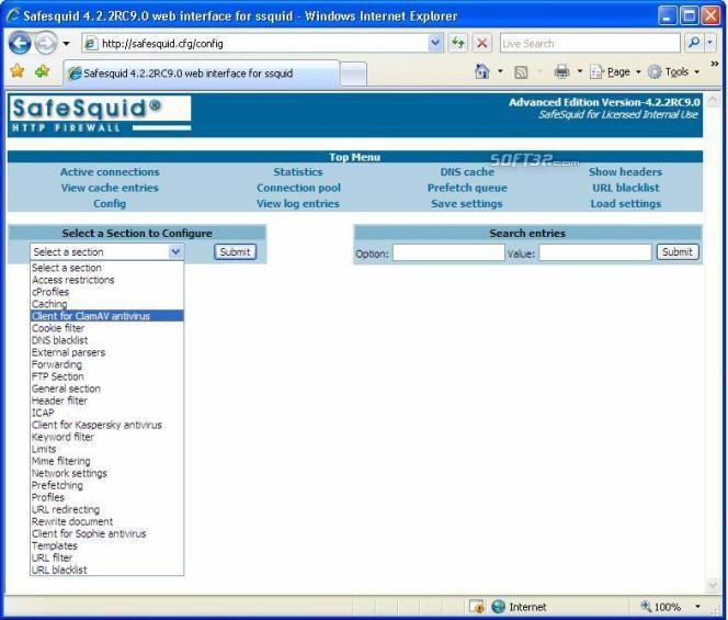 SafeSquid Business Edition 15 Screenshot 2
