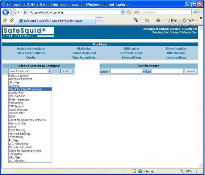 SafeSquid Business Edition 25 Screenshot 2