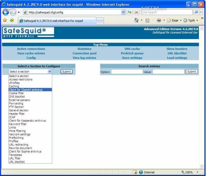SafeSquid Business Edition 50 Screenshot 2
