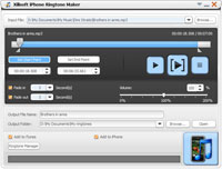 Xilisoft iPhone Ringtone Maker Screenshot 3