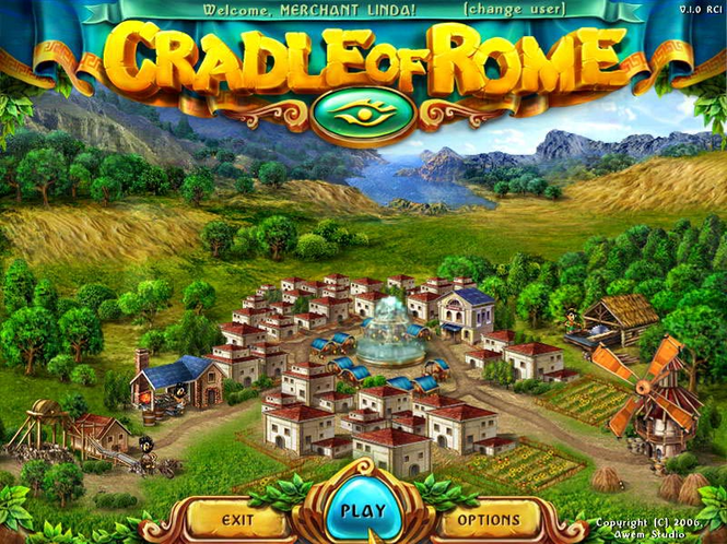 Cradle of Rome for Mac OS X Screenshot 1