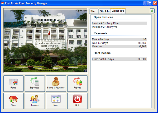 Real Estate RPM Screenshot