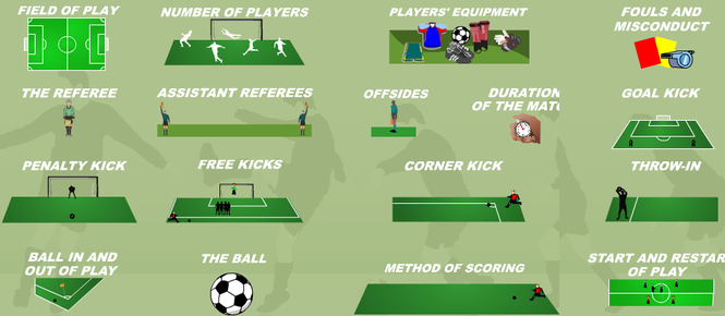 Animated Soccer Rules Screenshot 1