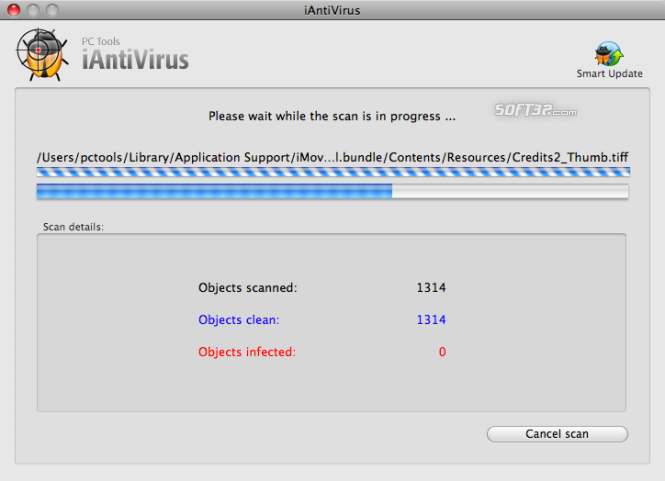 iAntiVirus Free Edition Screenshot 2
