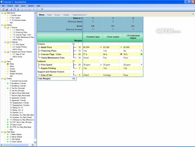 DecisionPad Screenshot 3