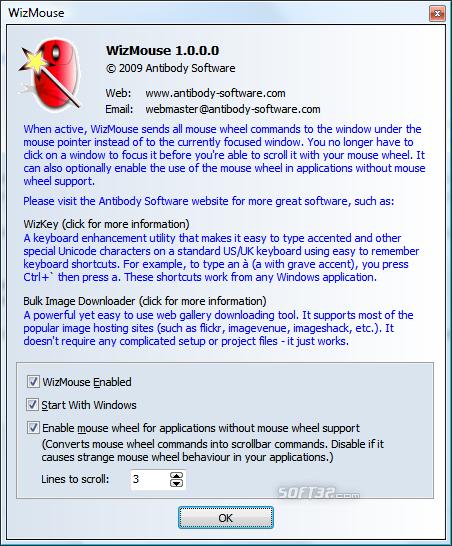 WizMouse Screenshot 3