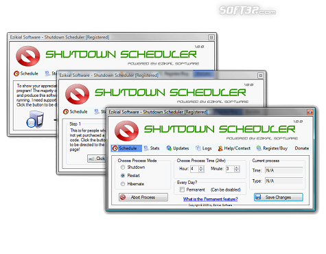 ES Auto Shutdown Scheduler Screenshot