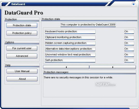 DataGuard AntiKeylogger Pro Screenshot 3