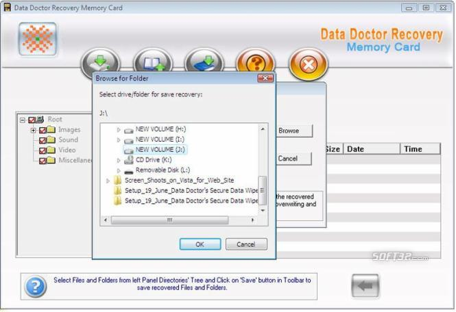 Memory Card Files Recovery Ex Screenshot 3