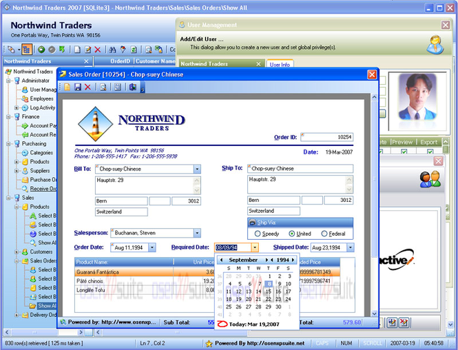 OsenXPSuite 2009 Enterprise Edition Screenshot 2