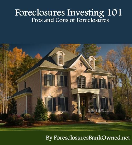 Foreclosures Investing 101 Screenshot 2