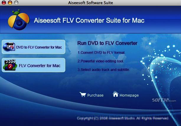 Aiseesoft FLV Converter Suite for Mac Screenshot 3