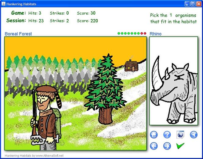 Hankering Habitats Screenshot