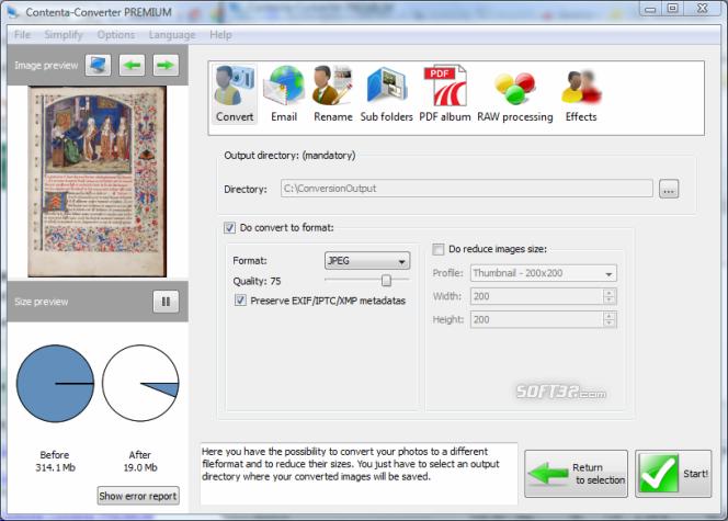 Contenta Converter PREMIUM Screenshot 2