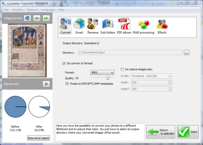 Contenta Converter PREMIUM Screenshot