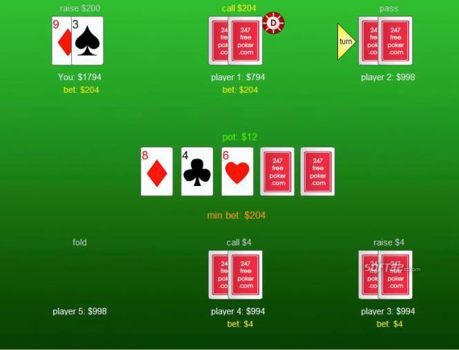 Poker Solitaire Screenshot 2