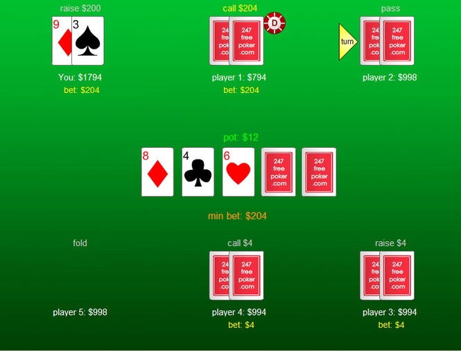 Poker Solitaire Screenshot 1