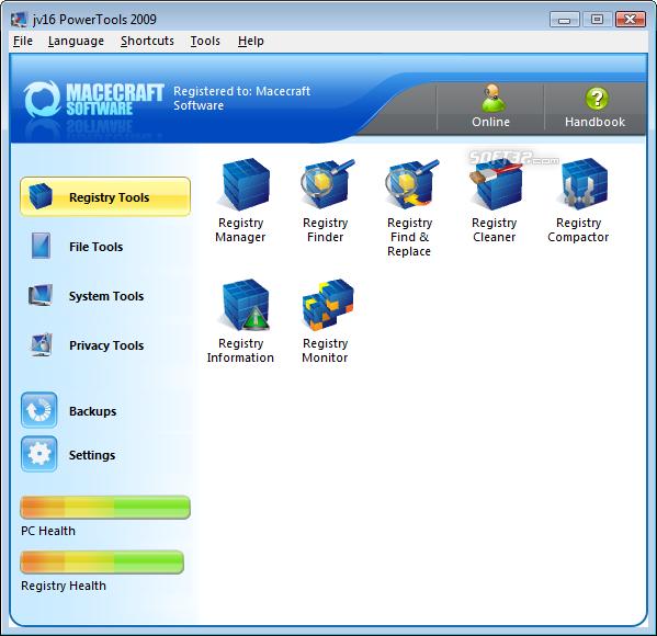 jv16 PowerTools 2009 Screenshot 2