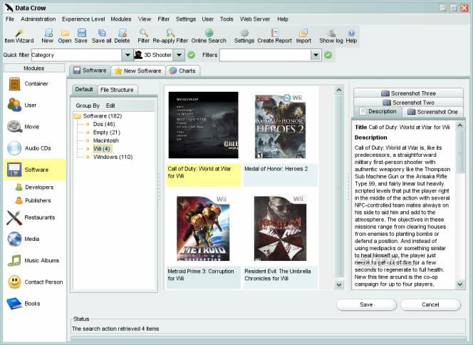 Data Crow Screenshot 2