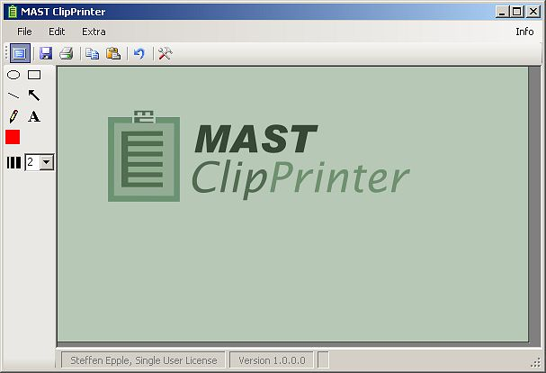 MAST ClipPrinter Screenshot