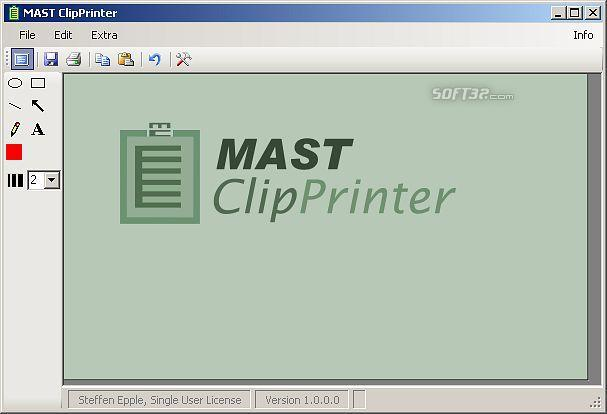 MAST ClipPrinter Screenshot 3