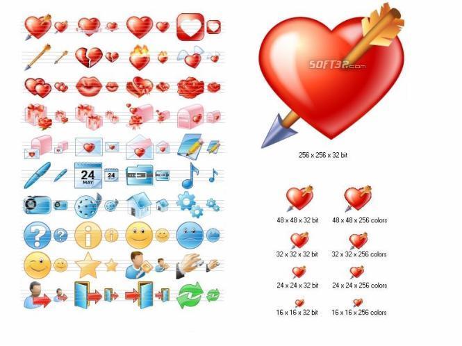 Love Icon Set Screenshot 2