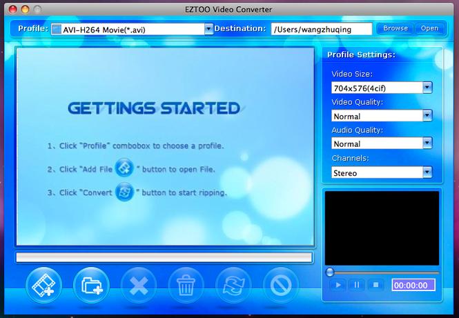 Video Converter for MAC(PPC) Screenshot