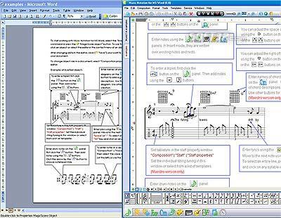 Music Notation For MS Word Screenshot 2