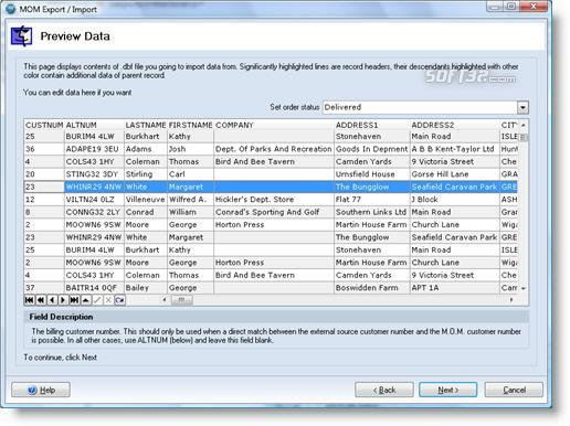 Mail Order Manager Export for X-Cart Screenshot 2
