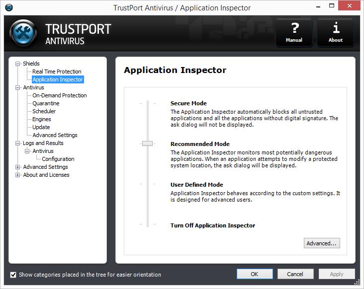 TrustPort Antivirus Screenshot 6