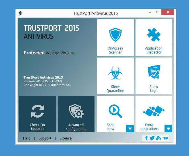 TrustPort Antivirus Screenshot 3
