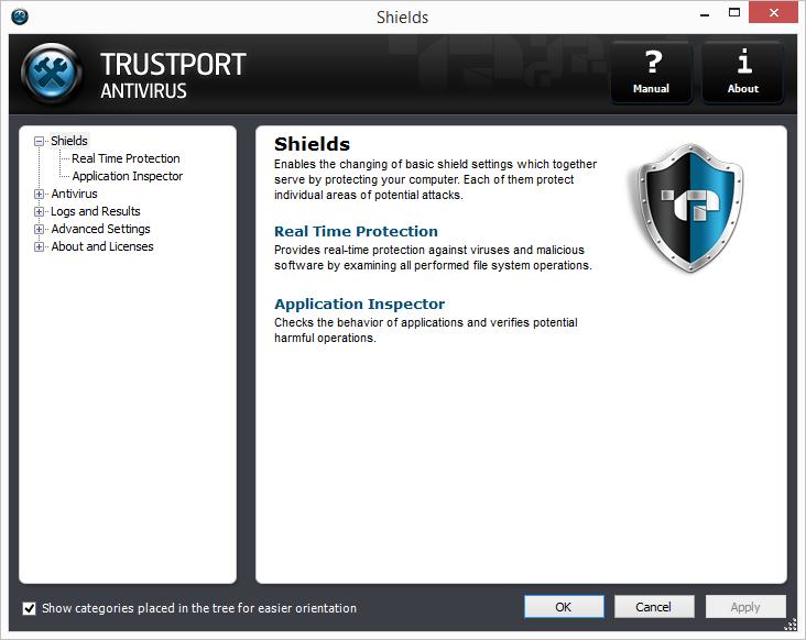 TrustPort Antivirus Screenshot 4