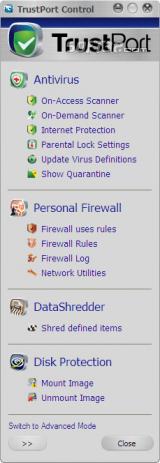 TrustPort PC Security Screenshot 2